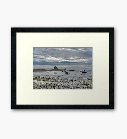 Across The Mud Flats Framed Print