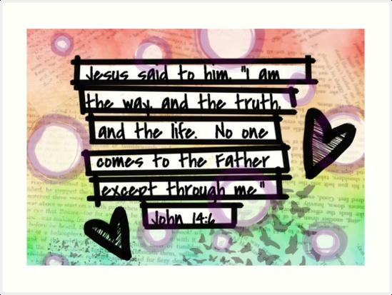 John 14:6 by TangleBoBangle