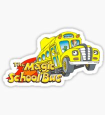 the magic school bus Sticker
