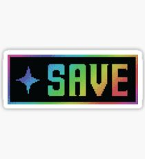 Save Button Sticker