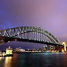 Harbour Bridge and Opera House by David Haworth