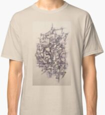 Abstract Pen and Ink Classic T-Shirt