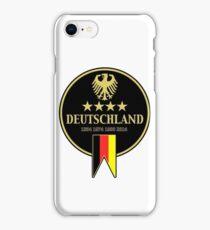 Deutschland Champions iPhone Case/Skin