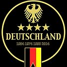 Deutschland Champions by Calum Margetts Illustration