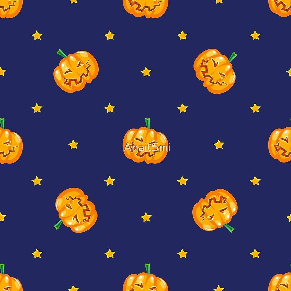 Funny ripe pumpkin  by AnaitSmi
