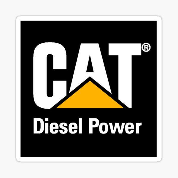 Cat Diesel Power Sticker