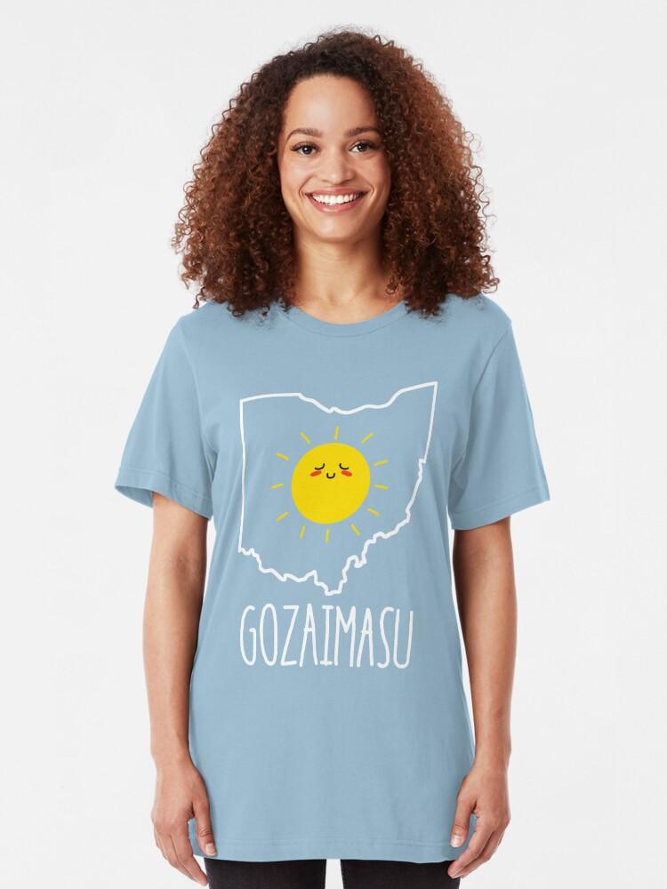 Alternate view of Ohio Gozaimasu 2.0 Slim Fit T-Shirt