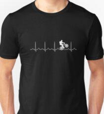 Mountainbike Heartbeat Mountain Biking Shirt T-Shirt