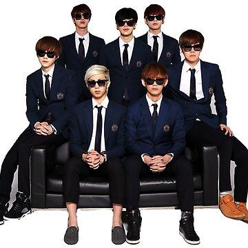 BTS Squad  by BreezeFrozen