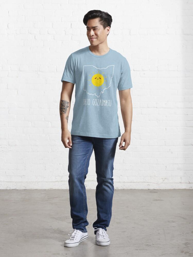 Alternate view of Ohio Gozaimasu Essential T-Shirt
