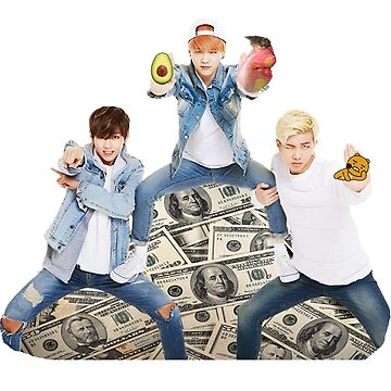 BTS - Taehyung, RapMon & Suga by BreezeFrozen