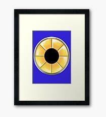 Metal Sonic Turbine Framed Print