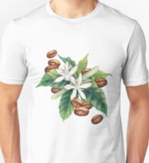 Watercolor coffee vignette Unisex T-Shirt