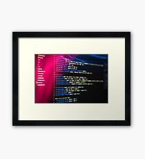 HTML and CSS code developing 2 Framed Print