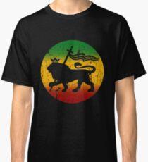 Lion of Judah Rasta Reggae Music Design Classic T-Shirt