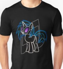 DJ Pon 3 and Cutie Mark Unisex T-Shirt