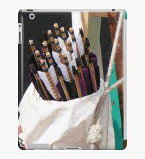 Arrows waiting to be shot iPad Case/Skin