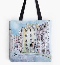 Madrid and the Plaza Mayor Tote Bag
