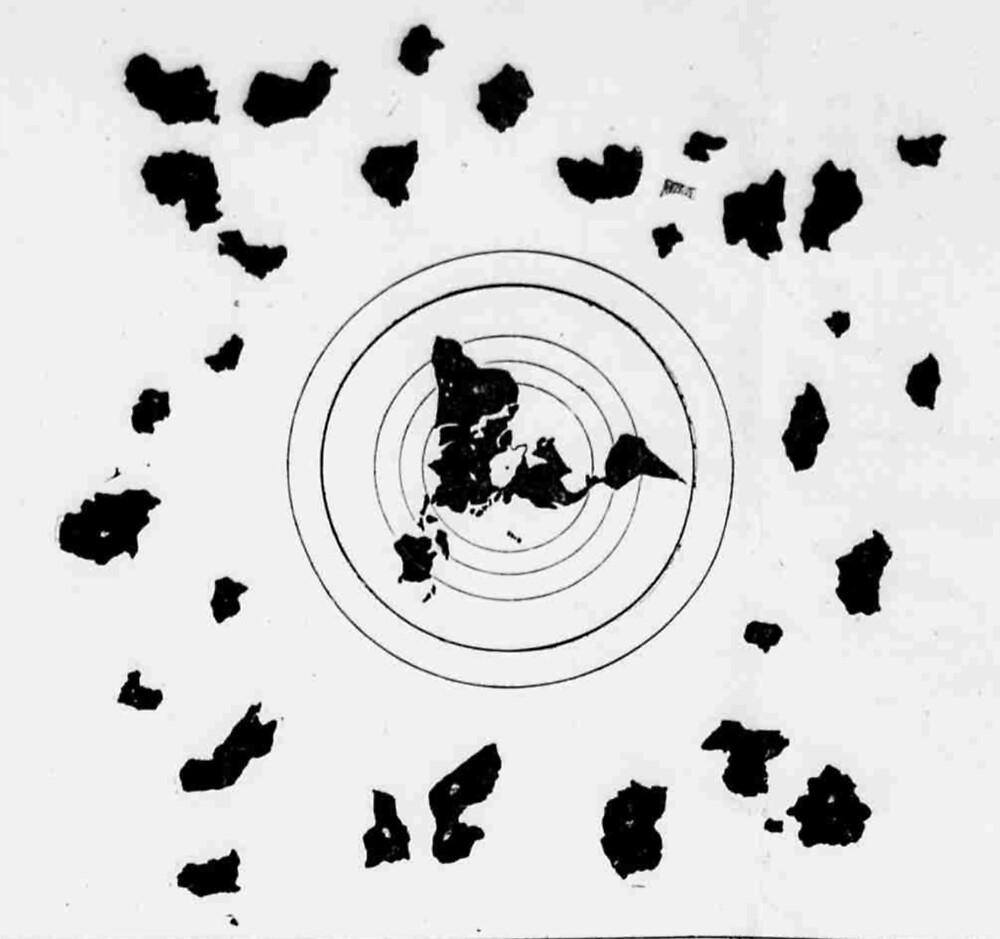 Flat Earth Map :