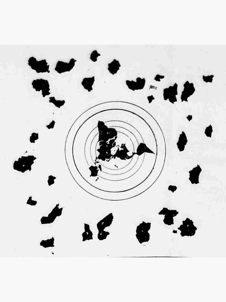 Flat Earth Map Shingon Buddhist World Map 9th Century