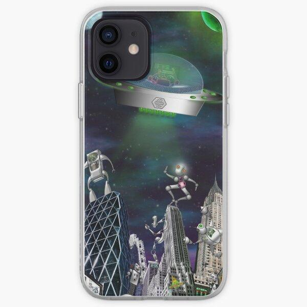 Leisure in Robotown iPhone Soft Case