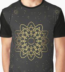 golden pattern in eastern, oriental, islamic style Graphic T-Shirt