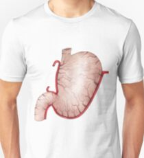 Watercolor stomach Unisex T-Shirt