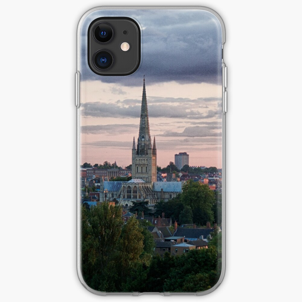 Norwich City Skyline iPhone Soft Case