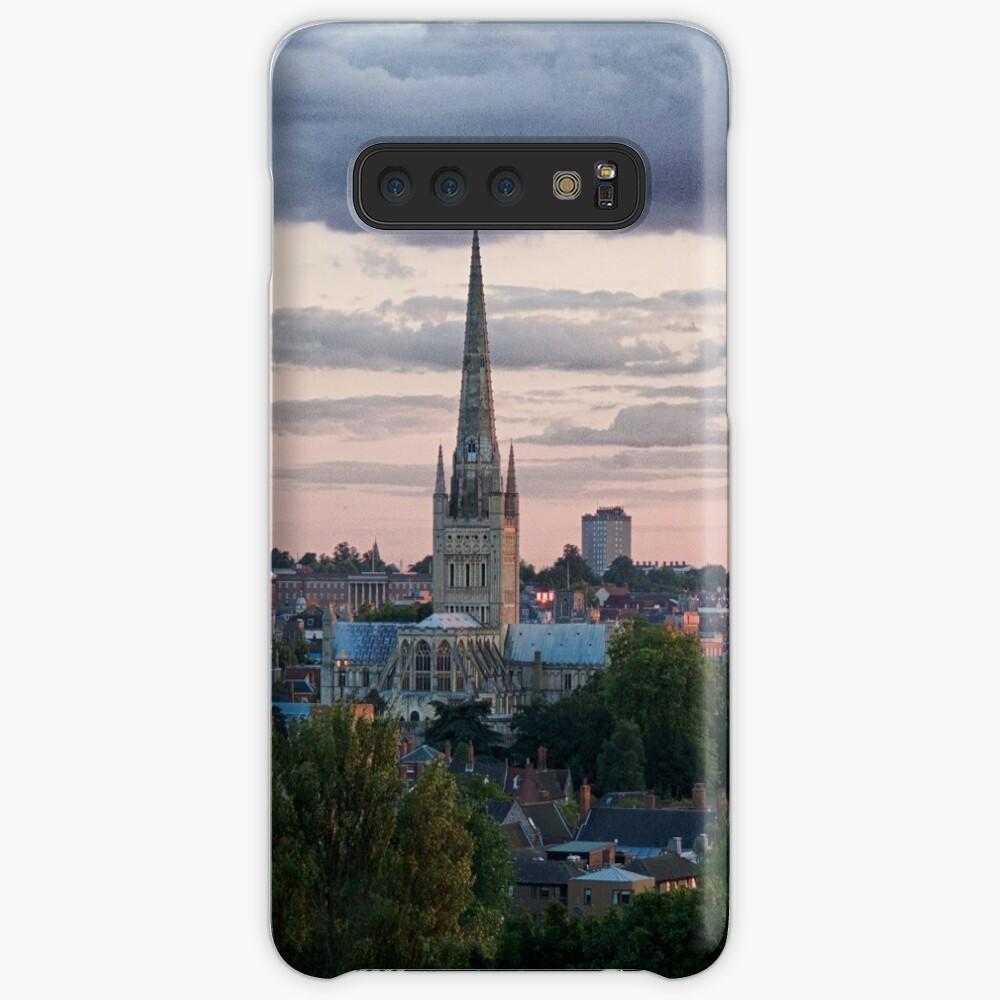 Norwich City Skyline Case & Skin for Samsung Galaxy