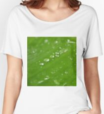 Water Droplets Women's Relaxed Fit T-Shirt