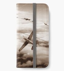Thrust and Parry - Sepia iPhone Wallet