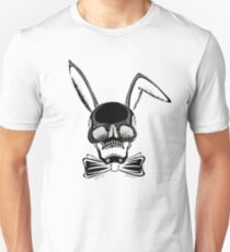 BUNNY SKULL INVERTED Unisex T-Shirt