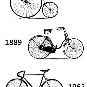 Bicycle Evolution by Decibel Clothing by DecibelAdelaide