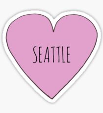 Seattle Love Sticker