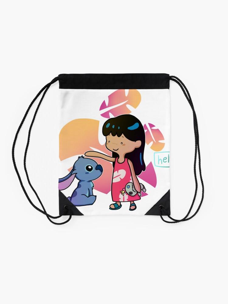 lilo & stitch | Drawstring Bag