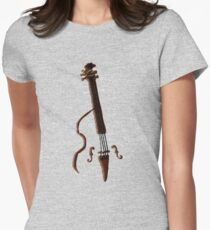 Doghouse Bass without house... Women's Fitted T-Shirt