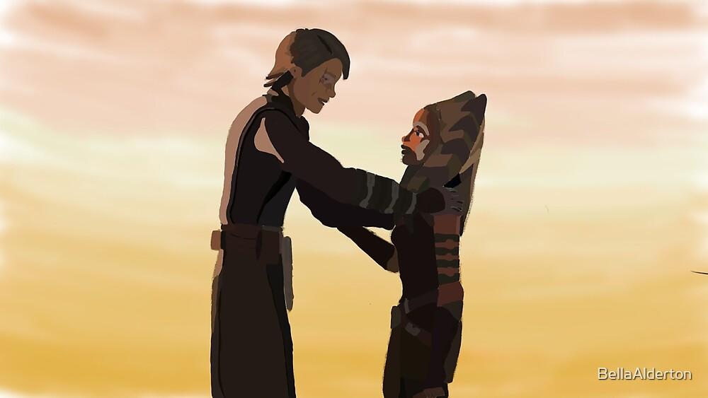 Anakin and Ahsoka by BellaAlderton