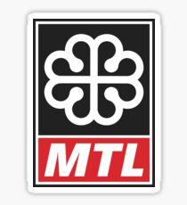 Ville de Montréal - Montreal City Sticker