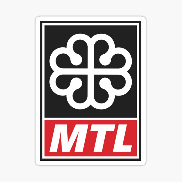 Ville de Montréal - Montreal City Sticker
