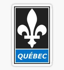 Québec - Fleur de lis Sticker