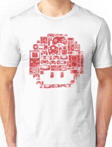 Retro Gaming Mushroom Unisex T-Shirt