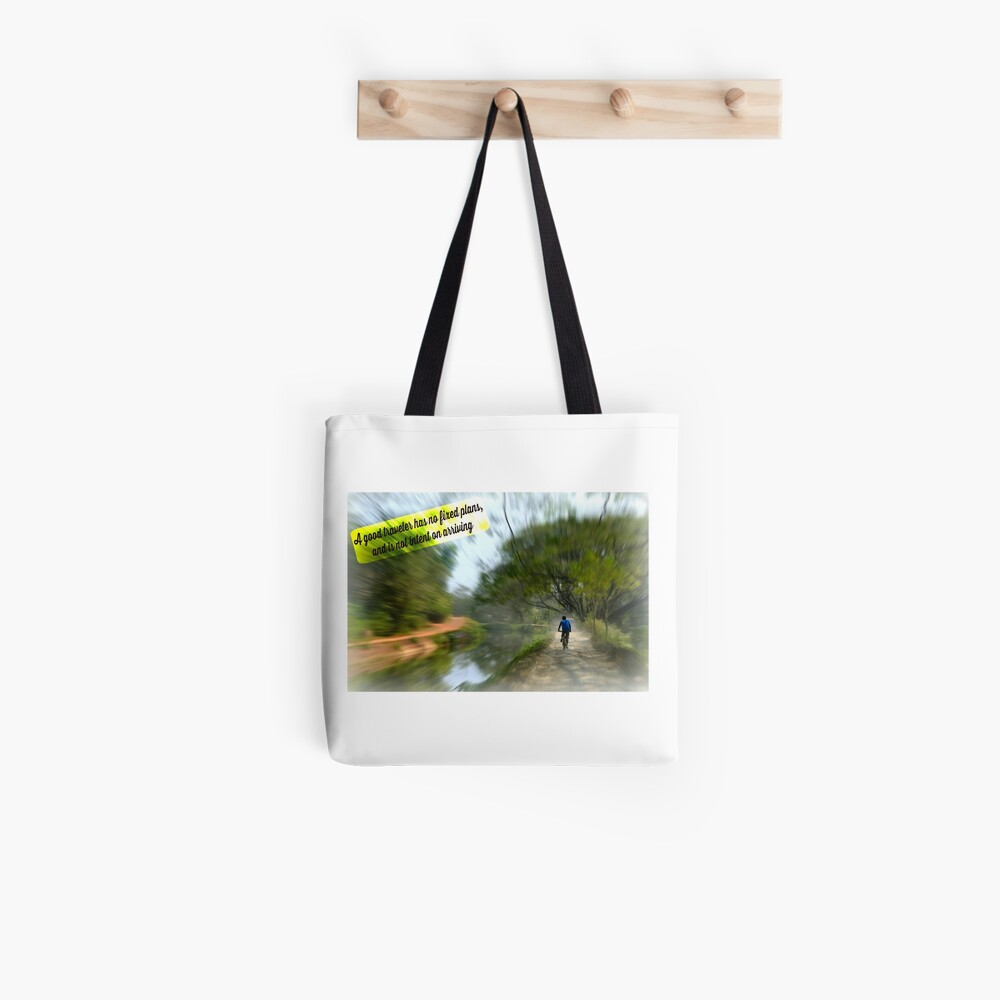 No Fixed Plans Travel Quote Collection  Tote Bag