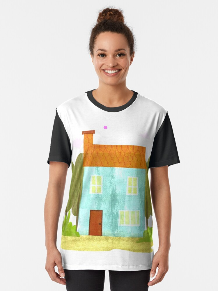 Alternate view of House #1 Graphic T-Shirt