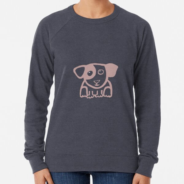 Cute puppy 1 - light Lightweight Sweatshirt