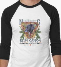 north blue canoe tours Men's Baseball ¾ T-Shirt