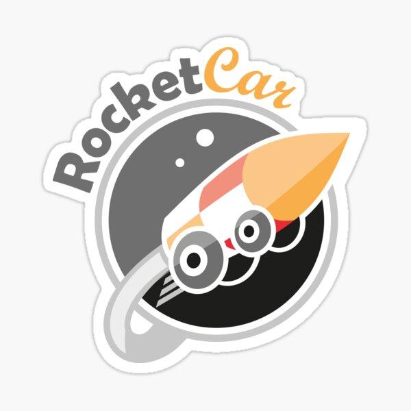 Rocket car Pegatina