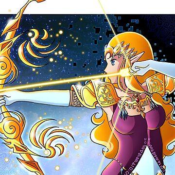 Princess Zelda by psyconorikan