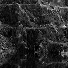 Ballachulish Slate Quarry Scotland Reflections by allaballa