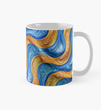 Frozen plasticine liquid lines and waves #DeepDream Mug