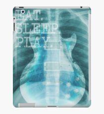 Guitar X Ray Eat Sleep Play iPad Case/Skin